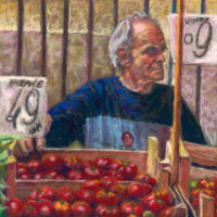 Tomato Man by Marcel Schwarb, 2015