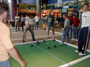 Bocce game photo