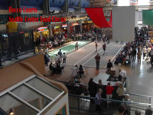 Bocce Tournament indoors photo