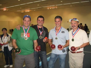 Bocce runners up 2009 photo