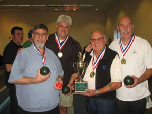 Bocce winners 2009 photo