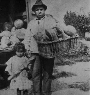 Photo of baker, Giglio Gai.