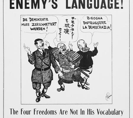 Speak American poster