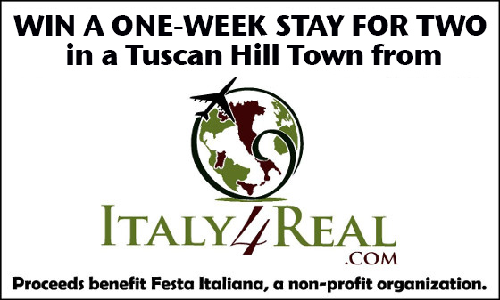 italy4real raffle banner image