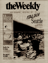 The Weekly, Cover for Goodbye Garlic Gulch