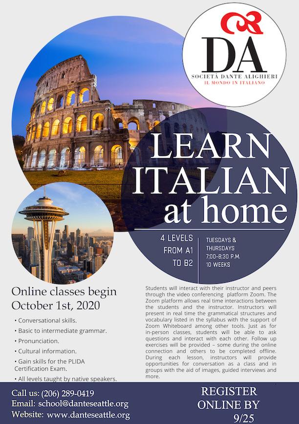 DAS classes flyer