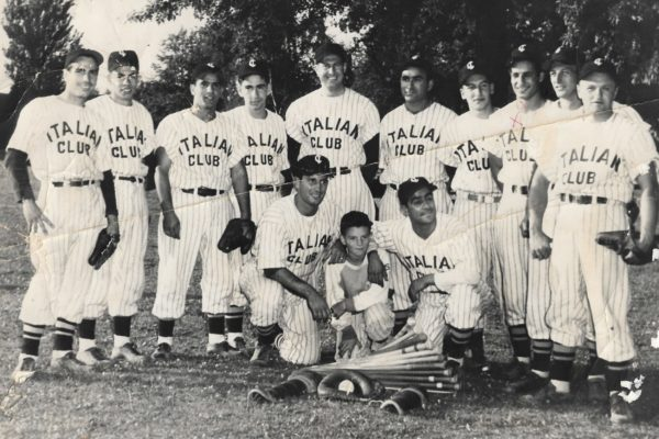 Italian Club baseball team, circa 1950