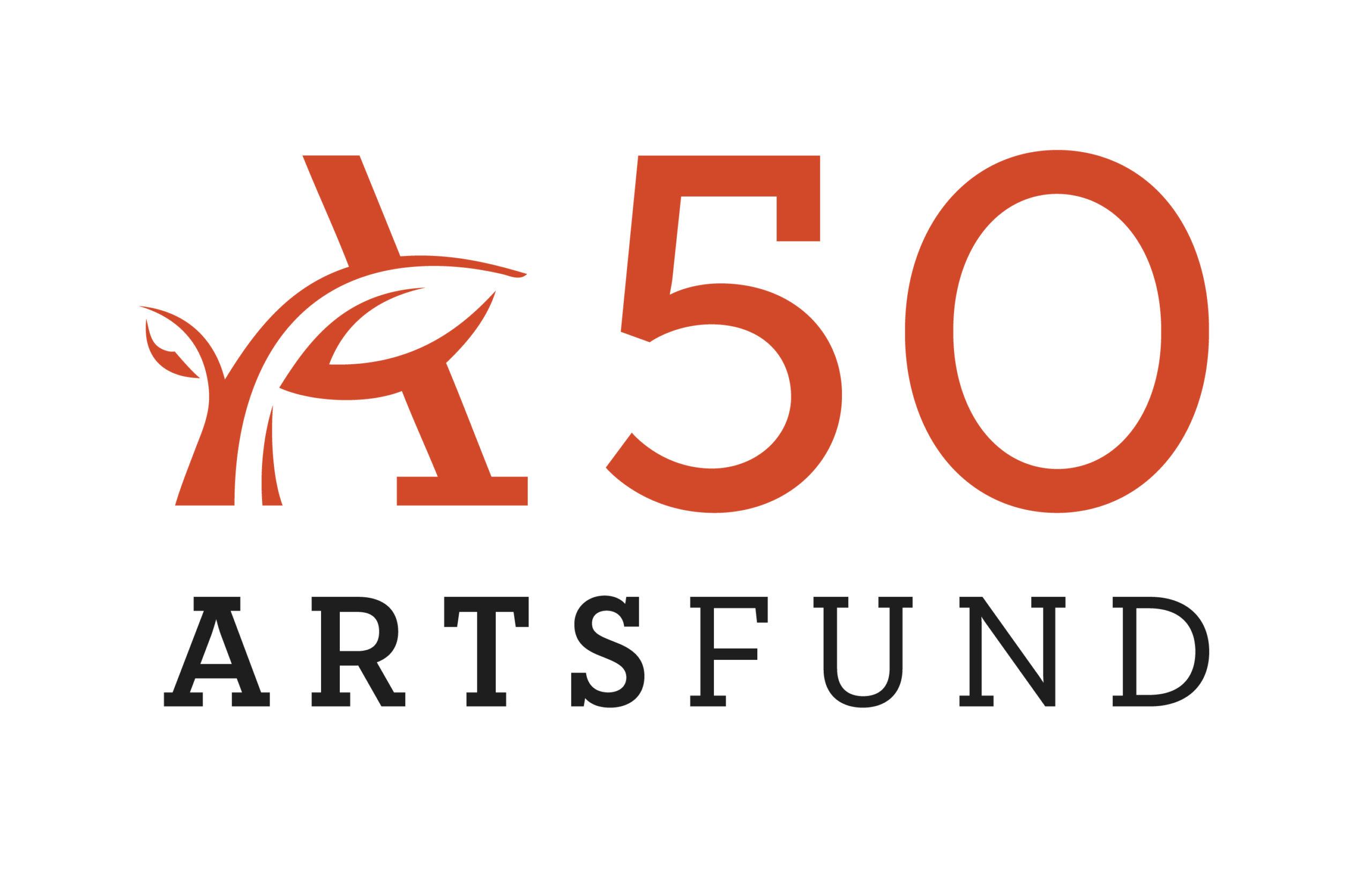 ArtsFund 50 Logo