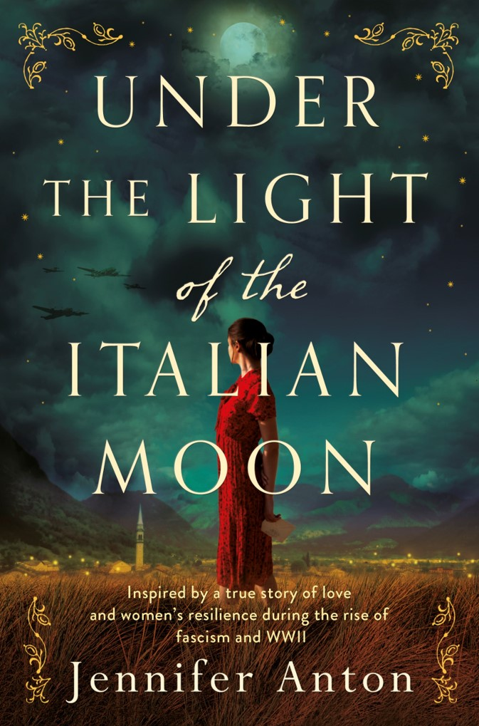 book cover of Under the Light of the Italian Moon